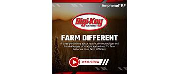 Image of Digi-Key Electronics Launches New Smart Agriculture Video Series, 'Farm Different,' with Supplyframe and Amphenol RF