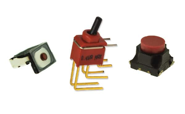Image of E-Switch's Wearables & Micro Miniature Switches